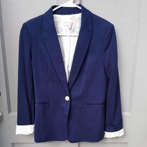 Philosophy Navy Blue Blazer